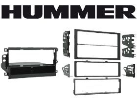 Metra Hummer H3T Radio Installation Kit