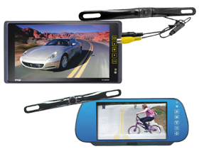 Mobile Rearview Mirror Monitors