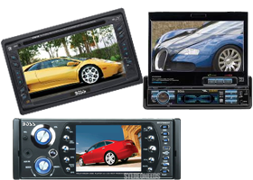 In-Dash DVD-CD-MP3 Players