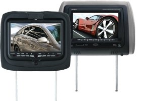DVD Headrest Monitors
