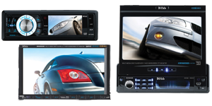 Boss Car Audio Monitor DVD Players