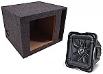 "Kicker Subwoofer Stereo System S12L7 Sub & 12"" Vented Enclosure"
