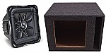 "Kicker Subwoofer Stereo System S15L7 Sub & Vented 15"" Enclosure"