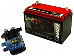 Car Audio Battery Install Stereo System Includes Stinger SGP35 Relay & SPP2150 Battery