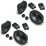 "Kicker Car Stereo 6x8"" Speaker System Includes (2) DS680.2 Speaker Pairs"