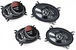 "Kicker Car Stereo 4x6"" Speaker System Includes (2) KS460 Pairs"