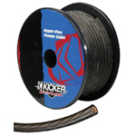 Kicker PWG050 1ft of 1/0 Gauge AWG Gray Power / Ground Cable Wire [09PWG050-1FT]