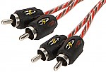 Stinger SI421.5 Car Stereo 4000 Series 1.5 Foot Amp Signal RCA Interconnect Cable
