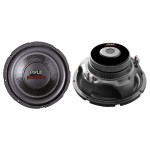 "Pyle Car Stereo PLPW10D 10"" 1000 Watts Dual 4-Ohm Subwoofer Speaker"
