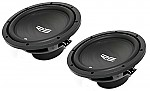 (2) RE Audio REX10 Car Stereo Dual 4 Ohm 700 Watt Peak 10&quot; Sub Subwoofer Pair System