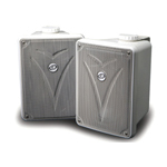 Kicker KB6000W 6 1/2 Inch Full Range Enclosed 75W Speakers (White) [11KB6000W]