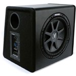 "Kicker PECVR12 12"" 400 Watts RMS SubStation CompVR Mono Powered Vented Sub Enclosure [11PECVR12]"