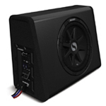 Kicker PES10C 10 Inch 450W SubStation Solo Classic Mono Powered Subwoofer [11PES10C]