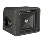 Kicker VS12L3 12 Inch 400W Solo Baric L3 Single Subwoofer Box 4 Ohm [11VS12L34]