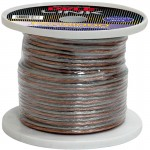Pyle Car Stereo PSC181000 18 Gauge 1000 ft. Spool of High Quality Speaker Zip Wire - Pair