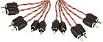 Stinger SI4620 Car Stereo 4000 Series 20 Foot 6 Channel RCA Signal Interconnect Cable