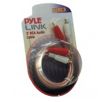 Pyle Car Stereo PLRC3 3 Feet Dual Stereo RCA Cable