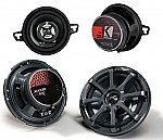 "Kicker Car Audio KS35 & KS650 Two Way 3 1/2"" & 6 1/2"" Speakers 2 Pair System System"