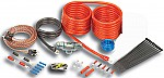 Stinger SK4641 Car Stereo 4000 Series 4 Gauge Power Wire Amp Install Kit & RCA Cables