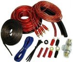 Car Audio Sound Quest SQK4 1200 Watt 4 Gauge Amp Install Kit