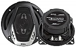 """Boss NX424 ONYX 4"""" 4-way Speaker Silver Poly Injection Cone Dual 4-Ohm"""
