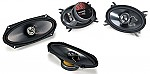 "Kicker Car Audio KS410 & KS460 Two Way 4x10"" & 4x6"" Speaker 2 Pair System System"