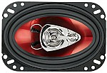 "Boss CH4630 CHAOS EXXTREME 4"" X 6"" 3-Way Speaker Red Poly Injection Cone"
