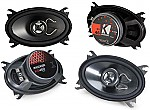 "Kicker Car Audio KS46 & KS460 Two Way 4x6"" Speaker 2 Pair System System"