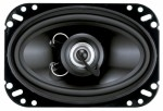 "Planet Audio TQ462 4"" x 6"" Two-Way Speaker System with Glossy Black Poly-Injection Cone 80W"