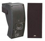 Pyle Boat Marine Stereo PLMR64B 5'' 3-Way Indoor / Outdoor Water Proof Wall Mount Speaker System (Black)