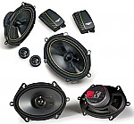 "Kicker Car Audio KS68 & DS680.2 Two Way 6x8"" 5x7"" Speaker 2 Pair System System"
