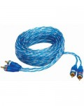 Sound Quest CRCB6 Competition Series 6 Feet Twisted RCA Interconnect Cable