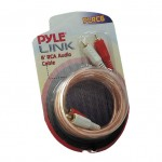 Pyle Car Stereo PLRC6 6 Feet Stereo RCA Cable