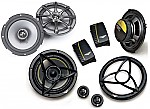 "Kicker Car Audio KS65 & DS650.2 Two Way 6 1/2"" 6.5"" Speaker 2 Pair System System"