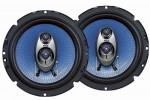 Pyle Car Stereo PL63BL 6.5'' 360 Watt Three-Way Speakers (Pair)