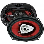 "Boss CH6920 CHAOS EXXTREME 6"" X 9"" 2-Way Speaker Red Poly Injection Cone"