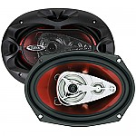 Boss CH6940 CHAOS EXXTREME 6&quot; X 9&quot; 4-Way Speaker Red Poly Injection Cone