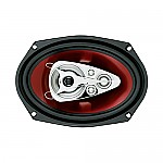 "Boss CH6950 CHAOS EXXTREME 6"" X 9"" 5-Way Speaker Red Poly Injection Cone"