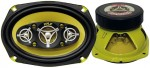 Pyle Car Stereo PLG69.8 6'' x 9'' 500 Watt Eight-Way Speakers (Pair)