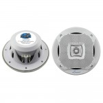 Lanzar Audio AQ7CXW 500 Watts 7.7'' 2-Way Marine Speakers - White Color (Pair)