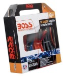 Boss Kit-Zero 10 Gauge Complete Amplifier Installation Kit with High Quality Cables