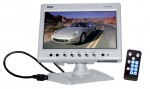 Pyle Car Stereo PLHR78W 7'' Widescreen TFT Headrest Monitor in White