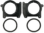 Metra 82-3043 Chevy / GMC Trucks 1994-Up Isuzu Hombre 1996-Up Speaker Adapter Plates