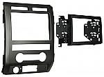 Metra 95-5822B Double DIN Installation Dash Kit for 2009-2010 Ford F-150 Non-NAV Models w/ Driver Info Switches in Factory Panel
