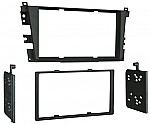 Metra 95-7868B Double DIN Installation Dash Kit for Acura 2001-2003 CL & 1999-2003 TL Vehicles (Black)