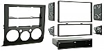 Metra 99-7012 Single or Double DIN Installation Kit for 2004-2007 Mitsubishi Galant w/ Automatic Climate Control