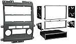 Metra 99-7428G ISO/DDIN Dash Installation Kit for 2009-2012 Nissan Frontier/Xterra Vehicles Gray Color