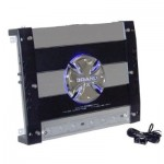 BRAND-X L105X4 Heavy Duty Power Aluminum Heat Sink 740 Watt 4-Channel Amplifier