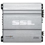 Sound Storm PSY1600.4 Psyclone Series 4-Channel MOSFET Class AB Bridgeable Amplifier High/Low Crossover 1600W