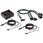 iSimple ISGM532 Dual Auxiliary Audio Adapter Kit for GMC Vehicles Includes PXAUX Interface & PGHGM2 Harness